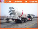 Foton 6*4 Concrete Mixer Truck 10 Wheeler Portable Concrete Mixer