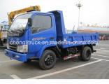 Rhd LHD 6 Cbm 12 Tons Foton Mini Dump Trucks