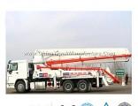 Very Cheap Concrete Pump Truck of 24-58meters Sinotruk