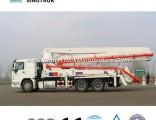 Popular Price Concrete Pump Truck of 24-58meters Sinotruk