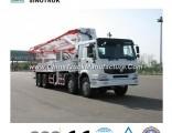 Popular Model Concrete Pump Truck of 24-58meters