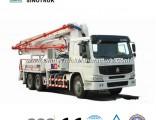 Popular Model HOWO Concrete Pump Truck of 24-58meters
