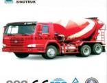 China Best Sitrack-C7h 6X4 10m3 Mixer Truck