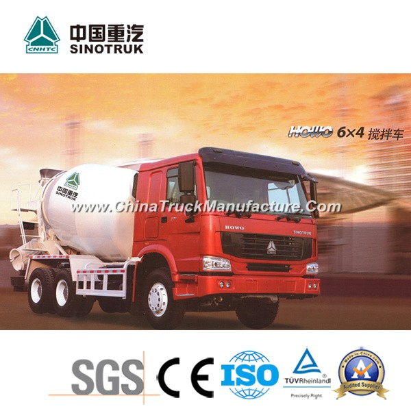China Best HOWO Mixer Truck of 6X4