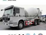 Hot Sale Concrete Mixer Truck of HOWO A7 6X4 10-12m3