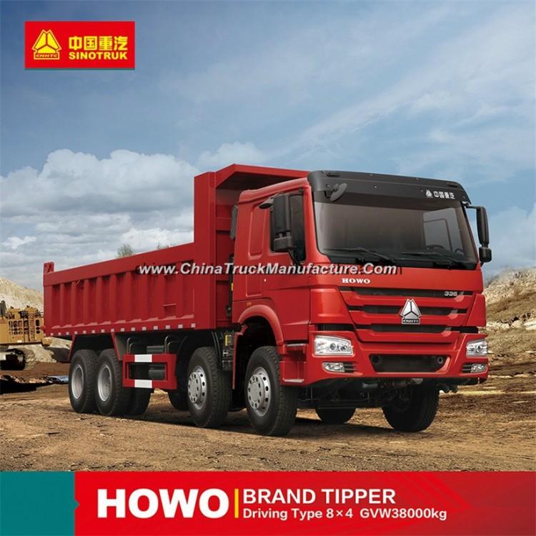 Hot Sale HOWO Dump Truck Tipper Dumper of 12 Wheels 8X4