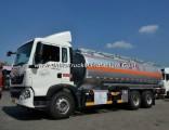 China Best Sinotruk HOWO Oil Tank Truck of 6*4 20-25m3/Fuel Tanker