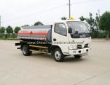 Popular Model Dongfeng Oil Tanker Truck of 4m3/Fuel Tanker