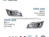Fog Lamp 21035690 21035692 of HOWO Heavy Truck Parts