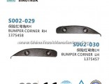 Bumper Corner 1375458 1375457 of Heavy Truck Parts