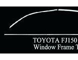 Top Quality Window Frame Tirms of Different Car
