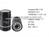 High Quality Truck Fuel Filter for Hino Lf734 W1262f