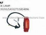 Hot Sale Daf Truck Parts Side Lamp 1735355/1433277/1814096