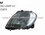 Hot Sale Daf Truck Parts Head Lamp Rim Rh 1363373