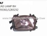 Hot Sale Daf Truck Parts Ead Lamp Rh 1293361/1283232