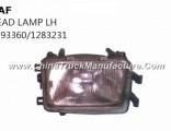 Hot Sale Daf Truck Parts Head Lamp Lh 1293360/1283231
