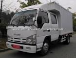 Isuzu 4X2 4t Double Cab Diesel Van Box Truck