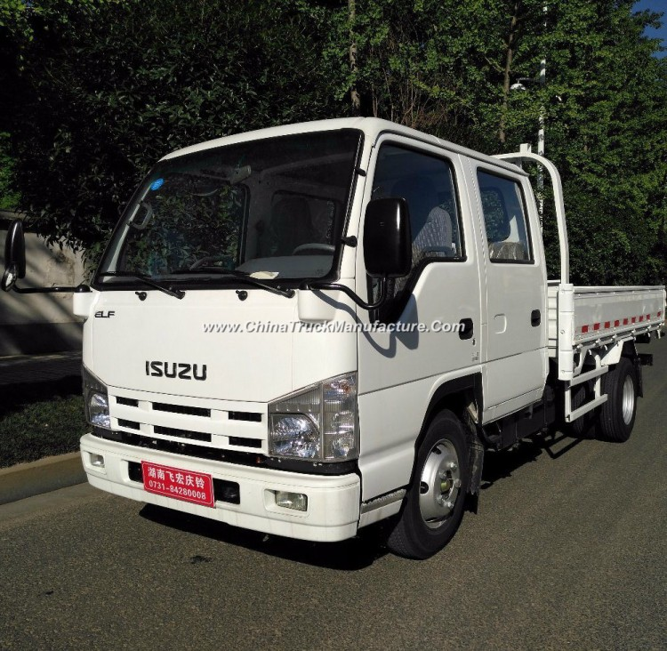 Isuzu 4X2 11.5FT 3.5m 2t Double Cab Cargo Truck