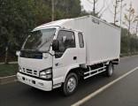 Hot Sale Diesel Engine 600p 4X2 3360mm Wheelbase Isuzu Single and Half Cabin Van Truck
