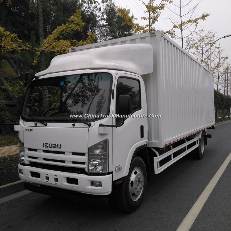 Isuzu 700p Diesel Engine 4HK1 Van Truck for Export