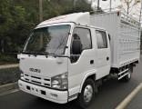 Isuzu 4X2 Double Cab Warehouse Gate Cargo Light Truck