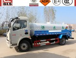 4X2 6000L Dongfeng Water Pump Trucks with Sprinkler Water Tank Truck