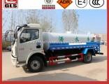Hot Sale 6000L Water Tank Truck for Water Storage 7000L 8000L 6-8 M3