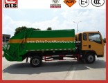 Sinotruk HOWO 4*2 3-6 M3 Compactor Garbage Truck