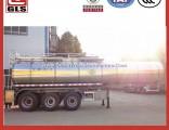 23-25cbm Chemical Liquid Transport Insulation Tank Semi Trailer