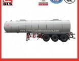 Tri-Axle Heating Bitumen Tanker Semi Trailer