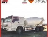 Sinotruk HOWO 10 Wheeler 8 Cubic Meters Chassis 6X4 Diesel Mobile Concrete Mixer Truck