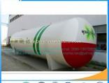 50cbm LPG Tank LPG Gas Storage Tank 50000L Empty Cylinder for Gas LPG Above Ground Tank Butane Gas T