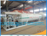25000L  Pressure Vessel LPG Liquefied Petroleum Gas Skid Tank Station for Ghana