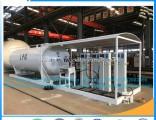 20m3 LPG Gas Filling Skid Pressure Tank Station for Cylinders