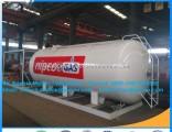 Standard Design for Africa Market 10m3 LPG Skid Filling Station 10cbm LPG Filling Skid Station