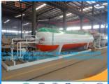 Mobile 10t LPG Filling Station Mobile LPG Tank with Skid 20cbm LPG Skid Filling Plant Mobile LPG Pla