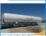 50cbm  20tons Mobile LPG Gas Filling Skid Tank Station Plant