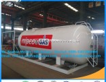 5000L 2.5metric Tons LPG Gas Filling Station Mobile LPG Tank Filling Plant LPG Gas Filling Station S