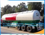 Big Capacity 59.52m3 Mobile Pressure Vessel LPG Tanker Cooking Gas Trailers