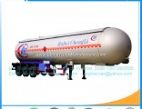 Low Price Hotsales 24500kg 58.8m3 LPG Gas Delivery Trailer LPG Tank Semitrailer LPG Tank Trailer wit