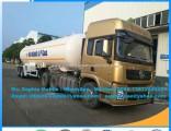2axles Propane Gas Trailer LPG Gas Road Trailer 40m3 LPG Tanker Trailer Isobutane Transport Semi-Tra