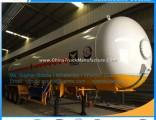 China Manufacturer 56000L LPG Tank Trailer LPG Semi Trailer Tri-Axle LPG Trailer LPG Storage Tank Tr