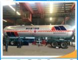 Most Popular New Style 3 Axles 58cbm Lp Gas Tanker Semitrailer LPG Pump Tank for Sale LPG Tanker Tra