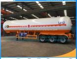 Advantage Technology New 56m3 LPG Propane Semi Trailer LPG Road Tanker LPG Tank Truck Trailer