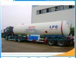 Double Axles 40000L 20mt LPG Tanker Trailer Liquid Gas Semitrailer LPG Trailer Tank Propane Trailers