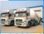 China Supplier Tri-Axle 56m3 LPG Gas Tank Transport Semi Trailer for Nigeria