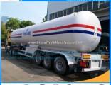 3 Fuwa /BPW Axles 56000 Liters 14580 Gallons GLP LPG Tank Trailer LPG Cooking Gas Tank LPG Semi Trai