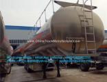3axles Aluminum Tank Semi Trailer Fuel Tank Trailer Aluminum Tank Trailer