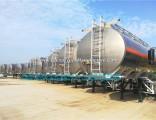 45000liters Aluminum Oil Tank Trailer, Large Capacity Fuel Tanker Trailer for Sale