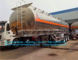42000liters Aluminum Alloy Tank Trailer Mobile Fuel Trailer for Sale